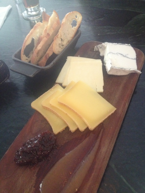Cheese Plate from the Farmhouse Tap and Grill