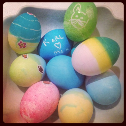 Pretty Easter Eggs!