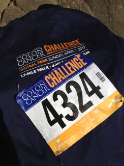 Colon Cancer shirt and bib